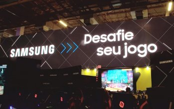 Samsung Gaming Booth at BGS