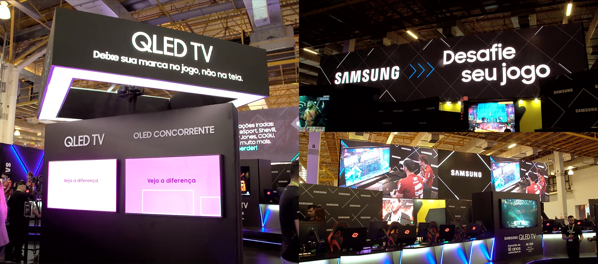 Samsung Gaming Booth na BGS